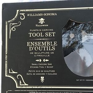 Williams Sonoma Pumpkin Carving Tool Set